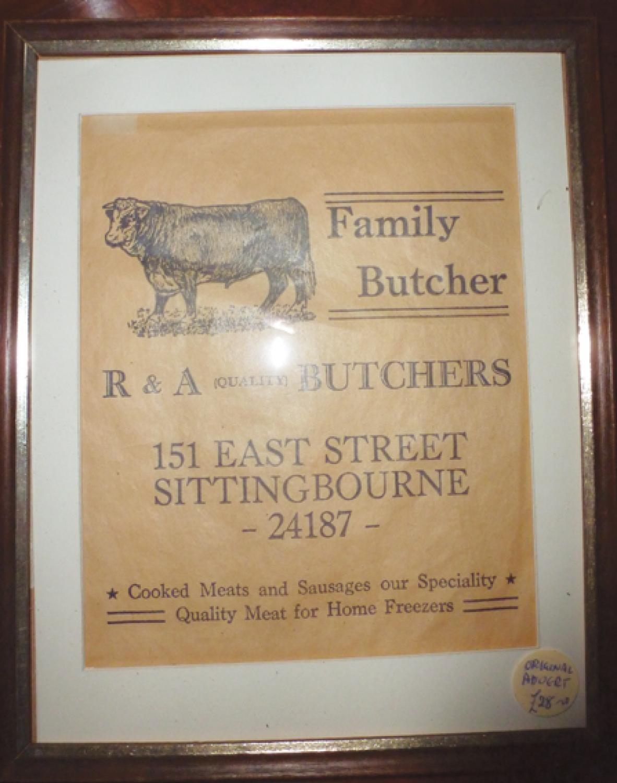 Advertising Bag Butcher's Shop, S