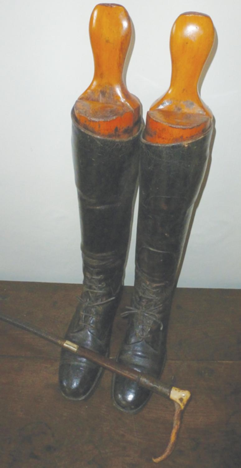 Antique WW1 Officers Riding Boots