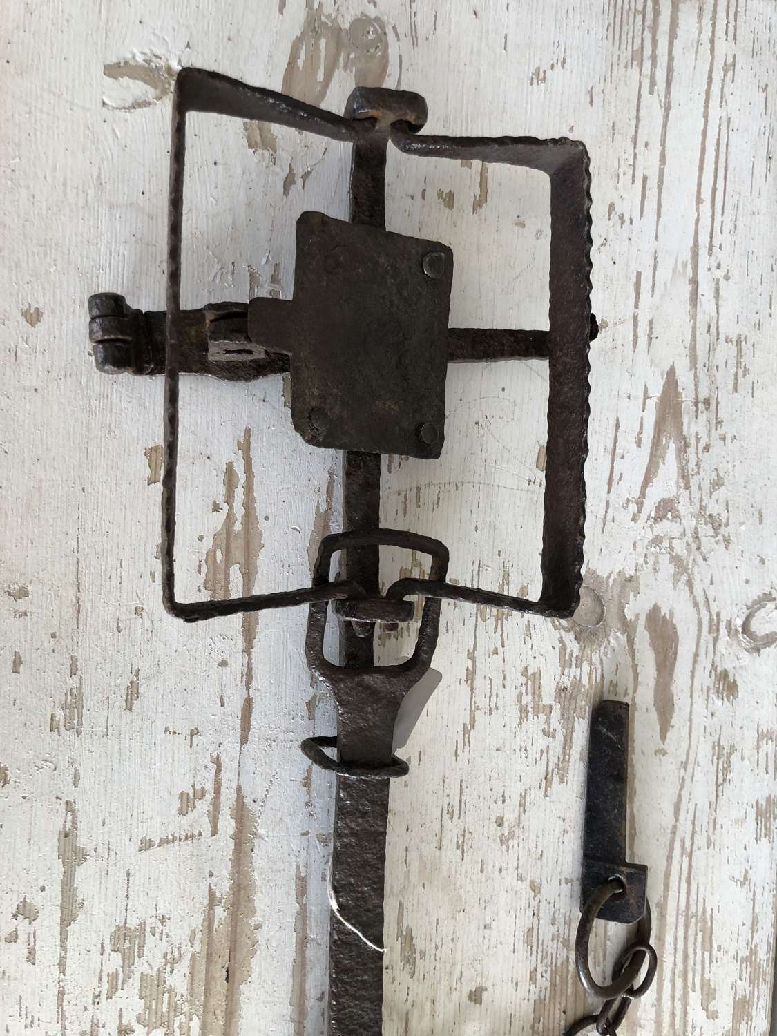 19th Cent Norfolk Otter Trap