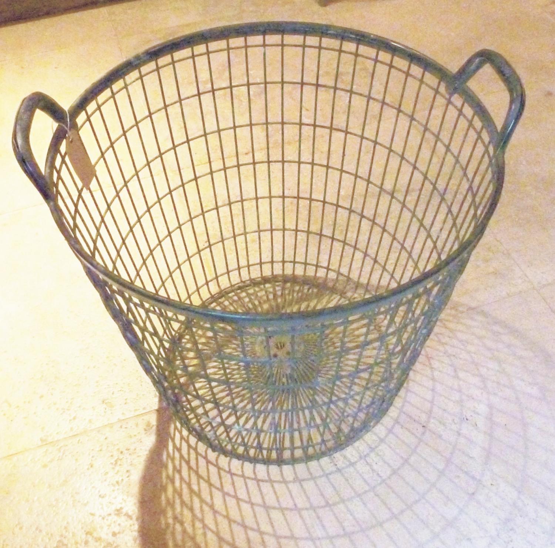 Vintage Large Wire Basket
