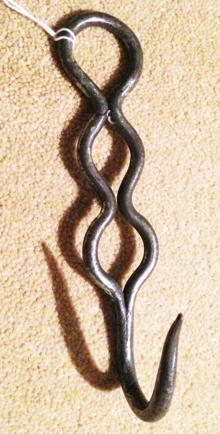 Looped Steel Butcher's Meat Hook
