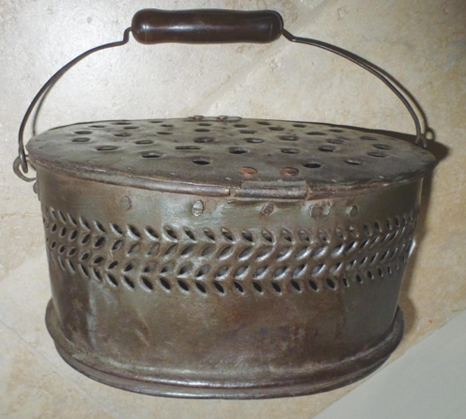19th Cent Foot Warmer
