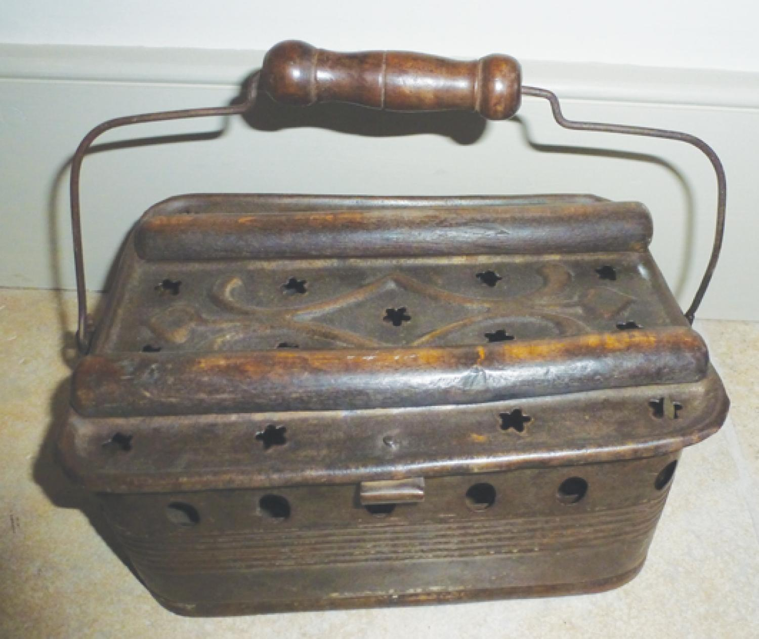 19th Cent Foot Warmer.