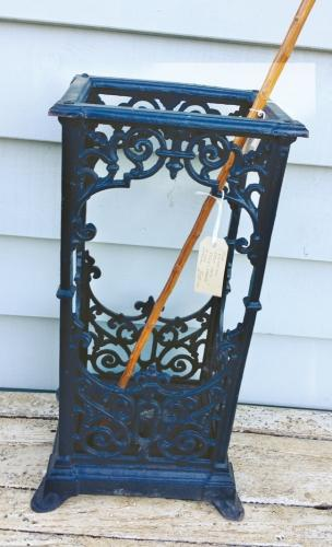 Antique Cast Iron Stick stand