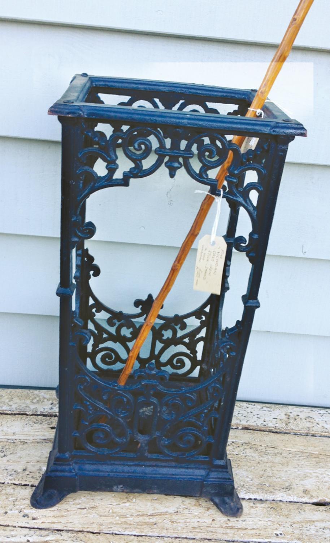 Antique Cast Iron Stick stand