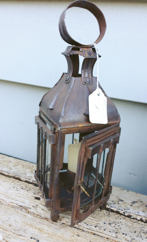 19th Cent Lantern (size 0 )