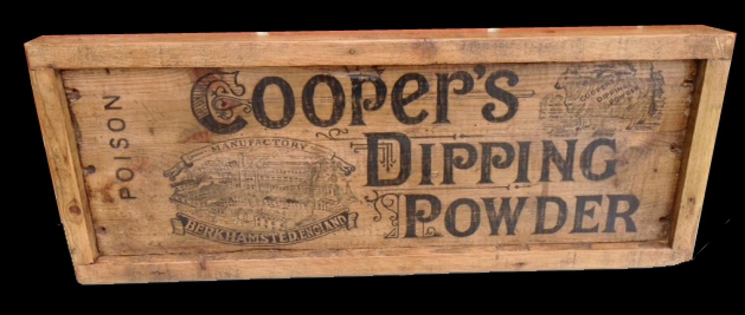 Cooper's Dipping Powder display