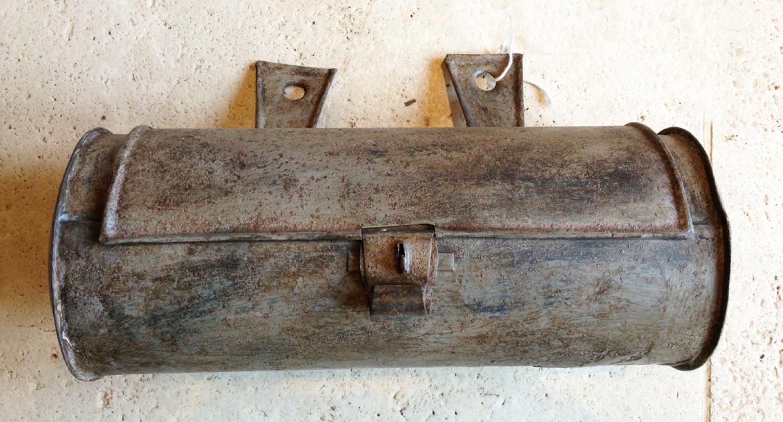 18th Cent English Tin Candle Box