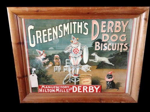 Greensmith's Dog Biscuits Show Card