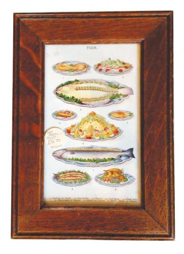Original Mrs Beeton Framed Print