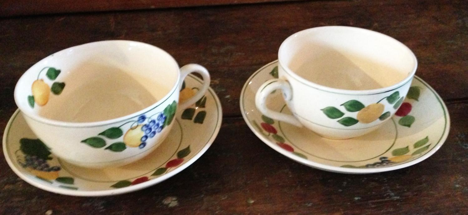 Titian Cup & Saucers