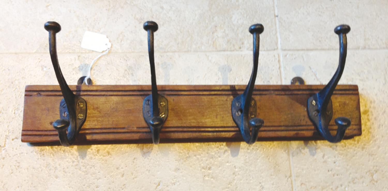 Antique Hook Rack