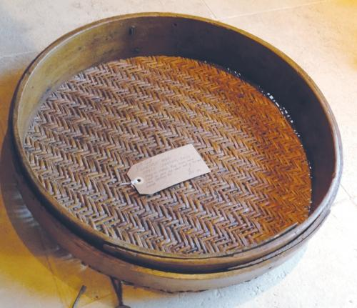 Antique Horse Coaching Sieve