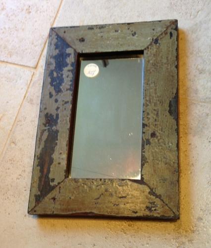 Old Mirror in original paint