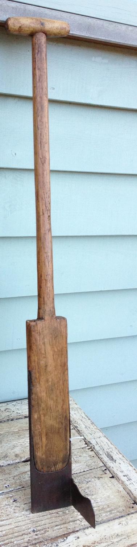 19th Cent Irish Peat Spade