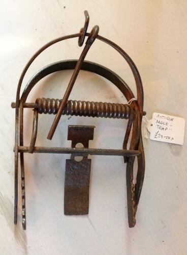 Vintage Mole Trap