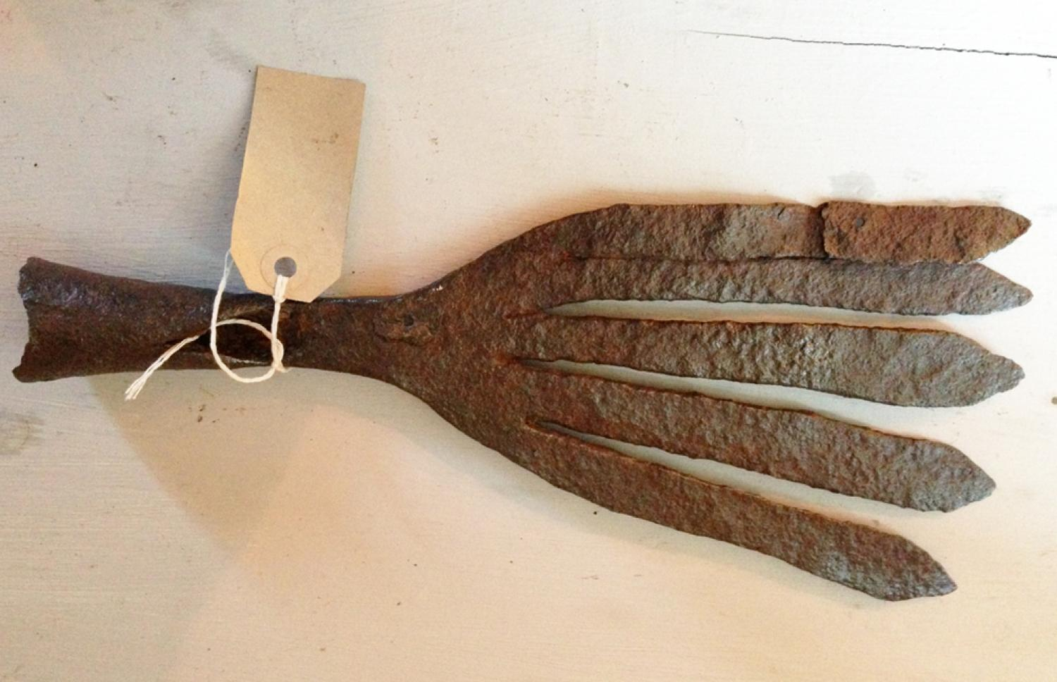 19th Cent Eel Spear