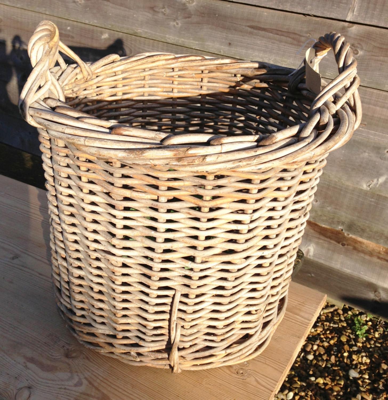 Old Log Basket