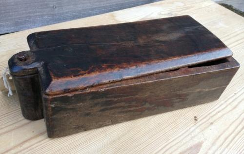 19th Cent Treen Spice Box