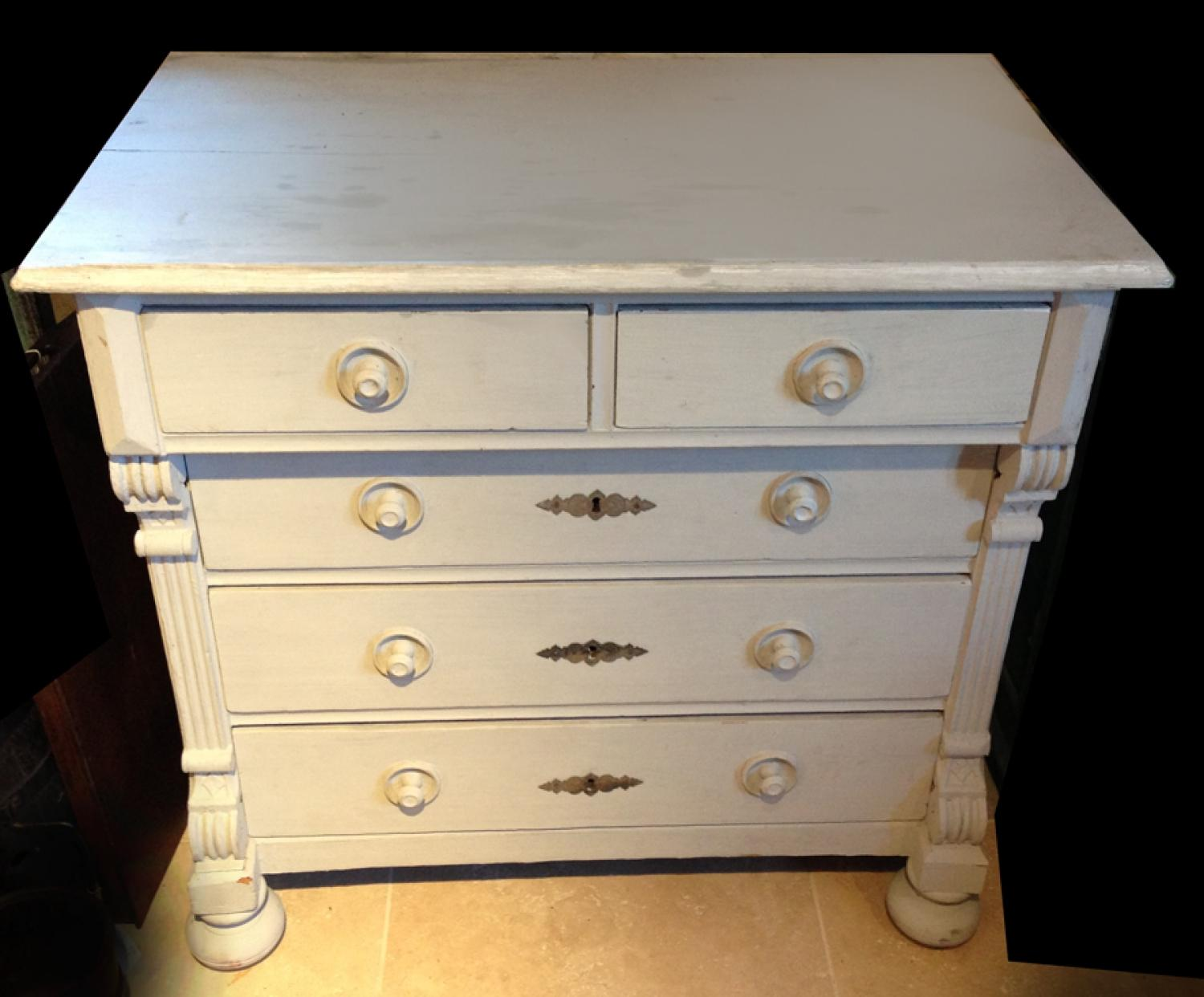 Elegant Victorian Chest of Drawers
