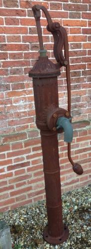 Large Antique Village Pump