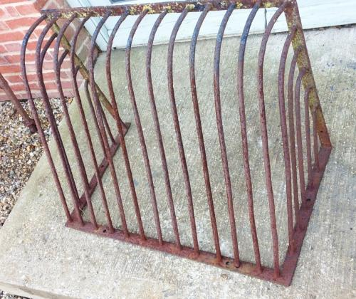 Wrought Iron Hay Basket