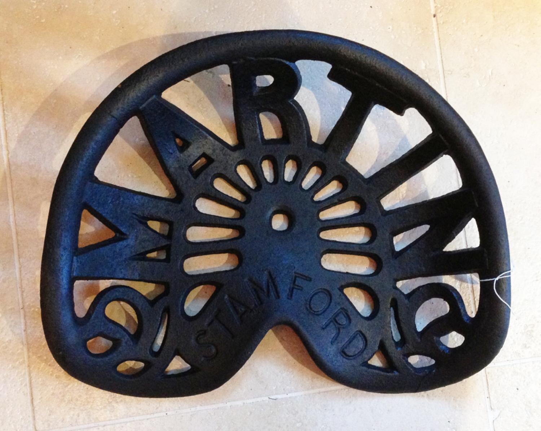 Antique 'Martins' Tractor Seat