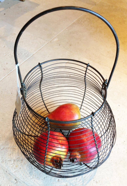 Vintage Wirework Egg Basket