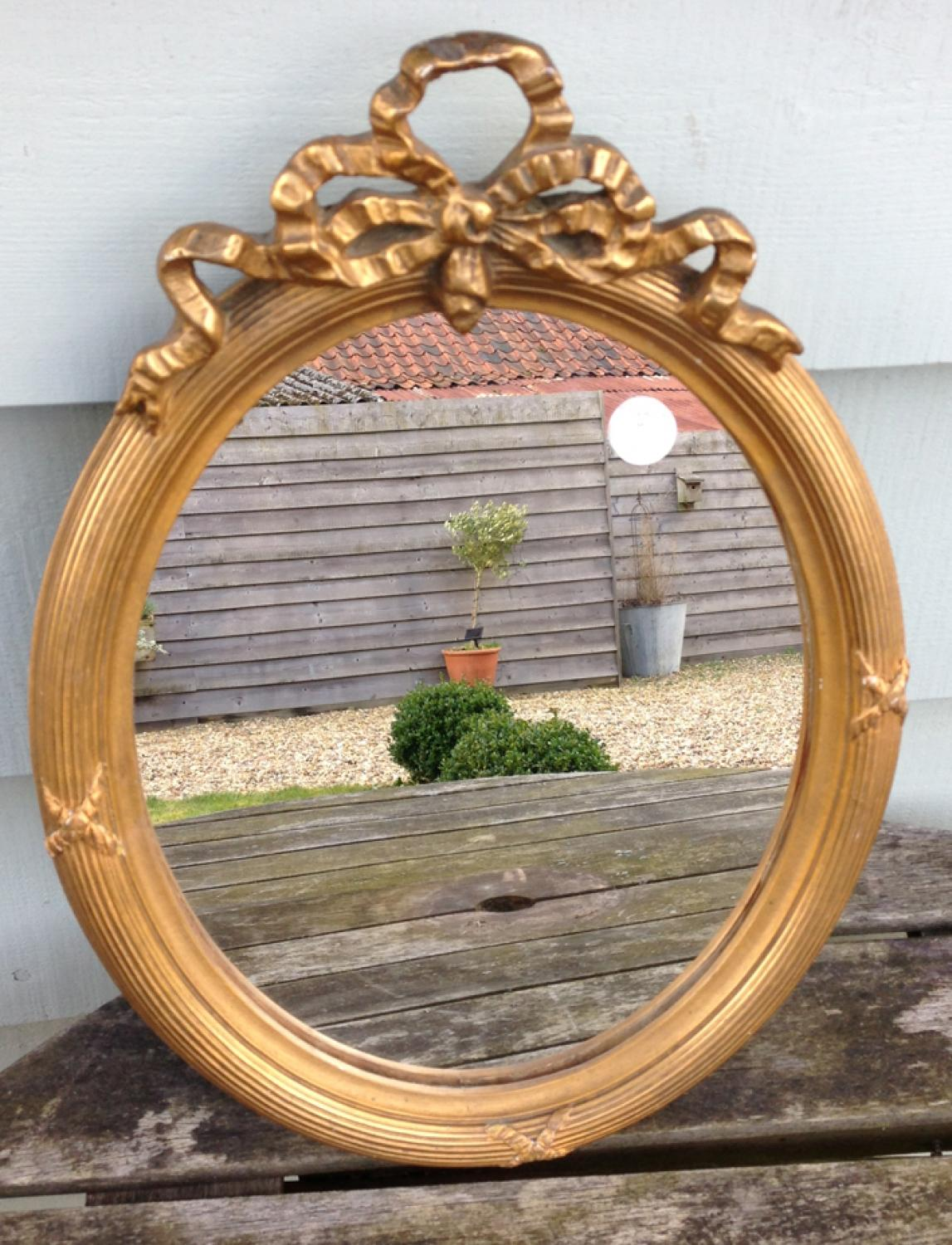Edwardian Ribbon Mirror