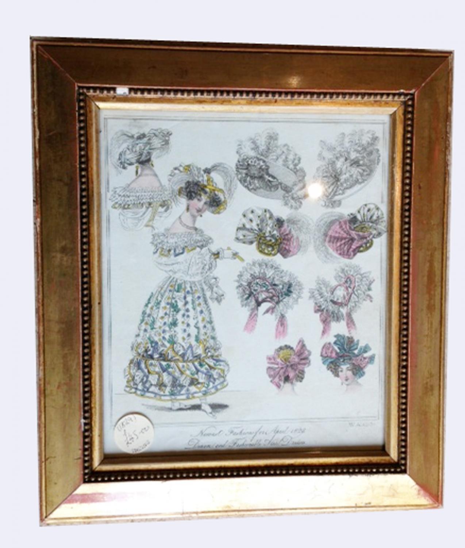 Georgian Fashion print 1829