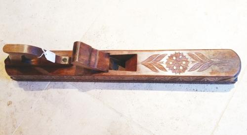 Antique Decorated Wood Plane