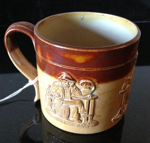 Antique Half Pint Harvest/Pub Mug