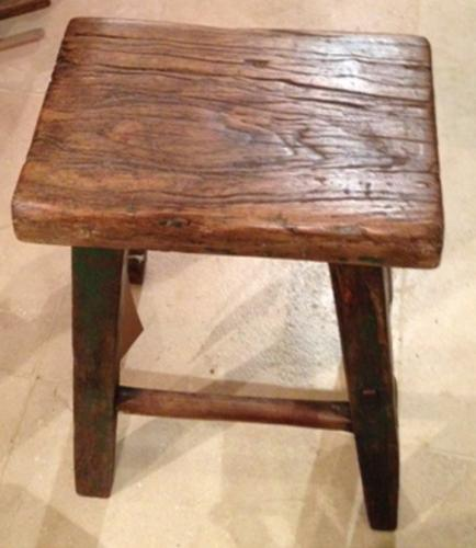 19th Cent Tall Stool