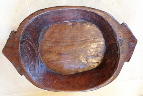 Antique Wood Bowl/Platter
