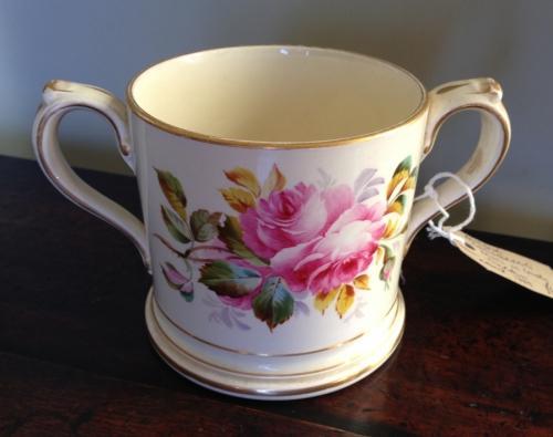 Floral Christening Mug 1889