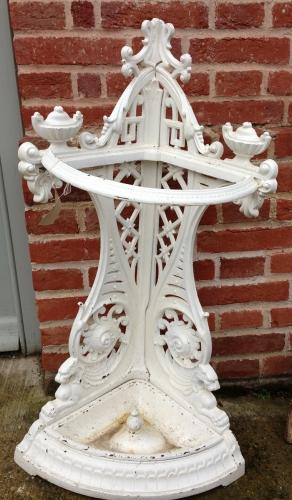 Victorian Cast Iron Umbrella Stand
