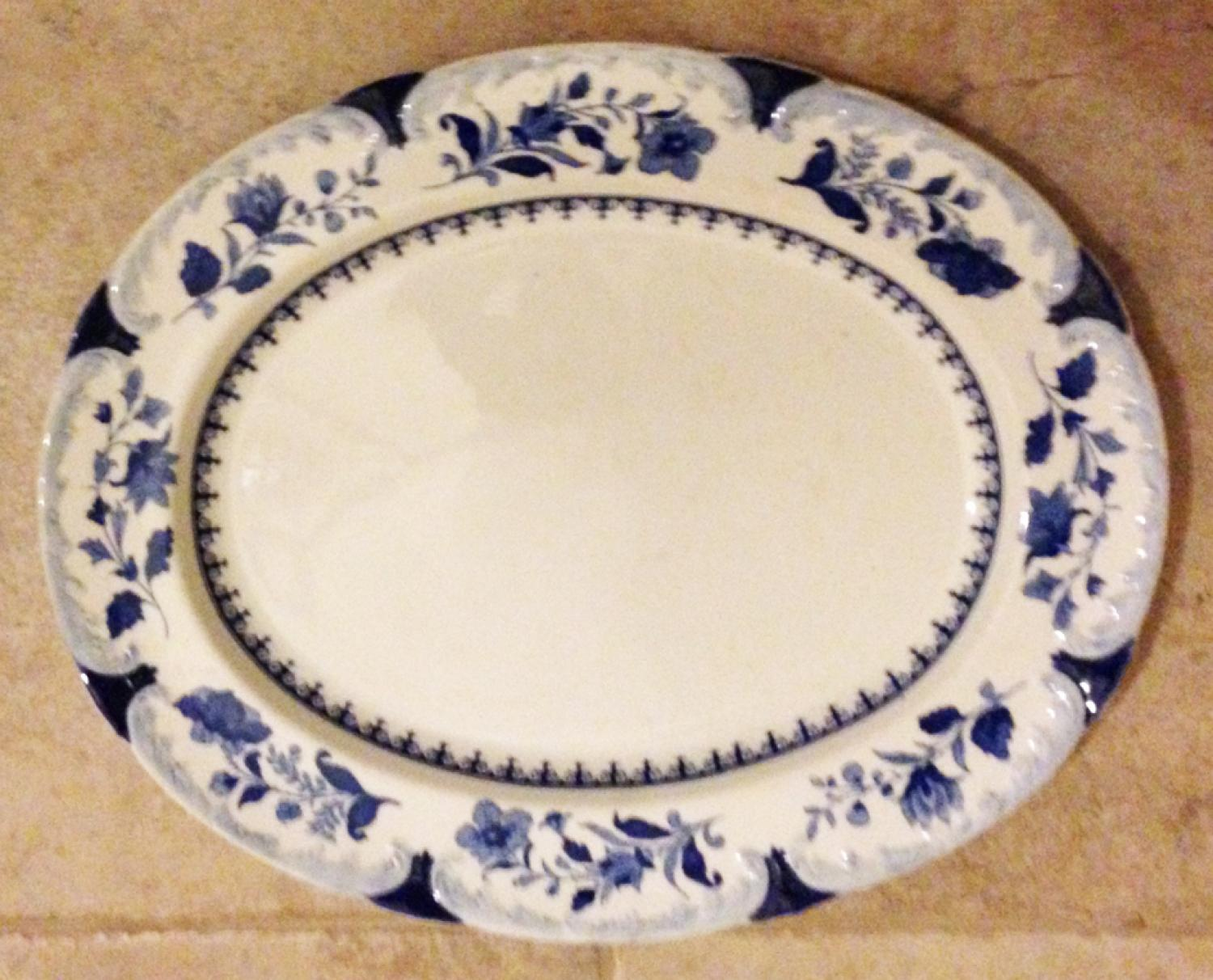 Large Spode Turkey Platter - Meat Plate