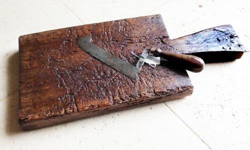 Antique Kitchen Chopping Block