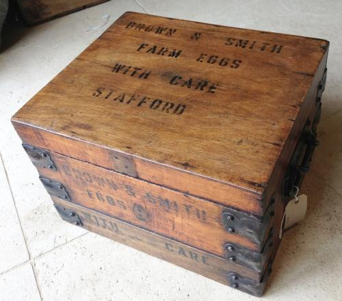 Antique Egg Delivery Box