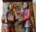 Rare pair 19th cent Folk Art carvings - picture 11
