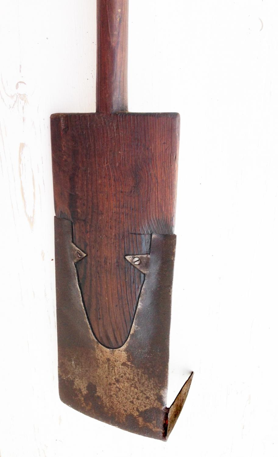 19th Cent Peat Spade