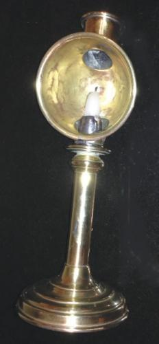 Antique Student's Candlestick