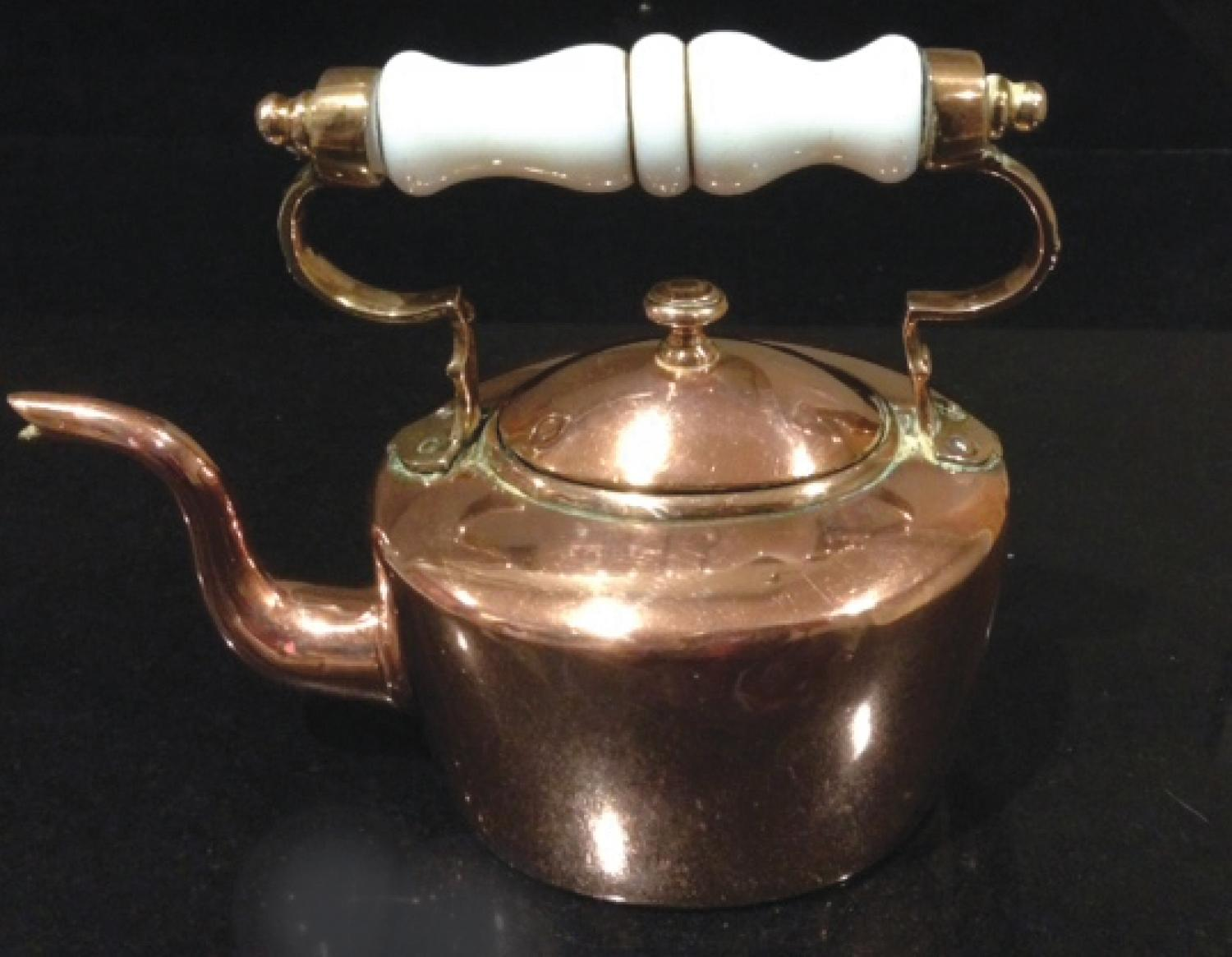 Very Small Early Copper Kettle