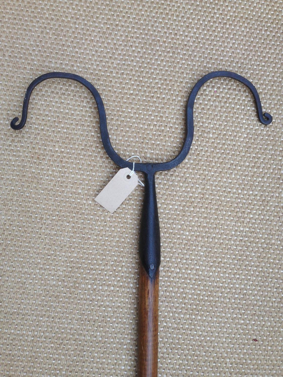 Antique Shepherd's Dipping Crook