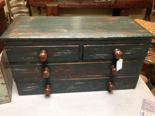 Small Painted Country Drawers