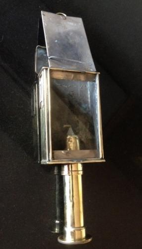 Rare 19th cent Stagecoach Pocket lamp