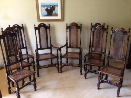 Set of 8 Quality Dining Chairs