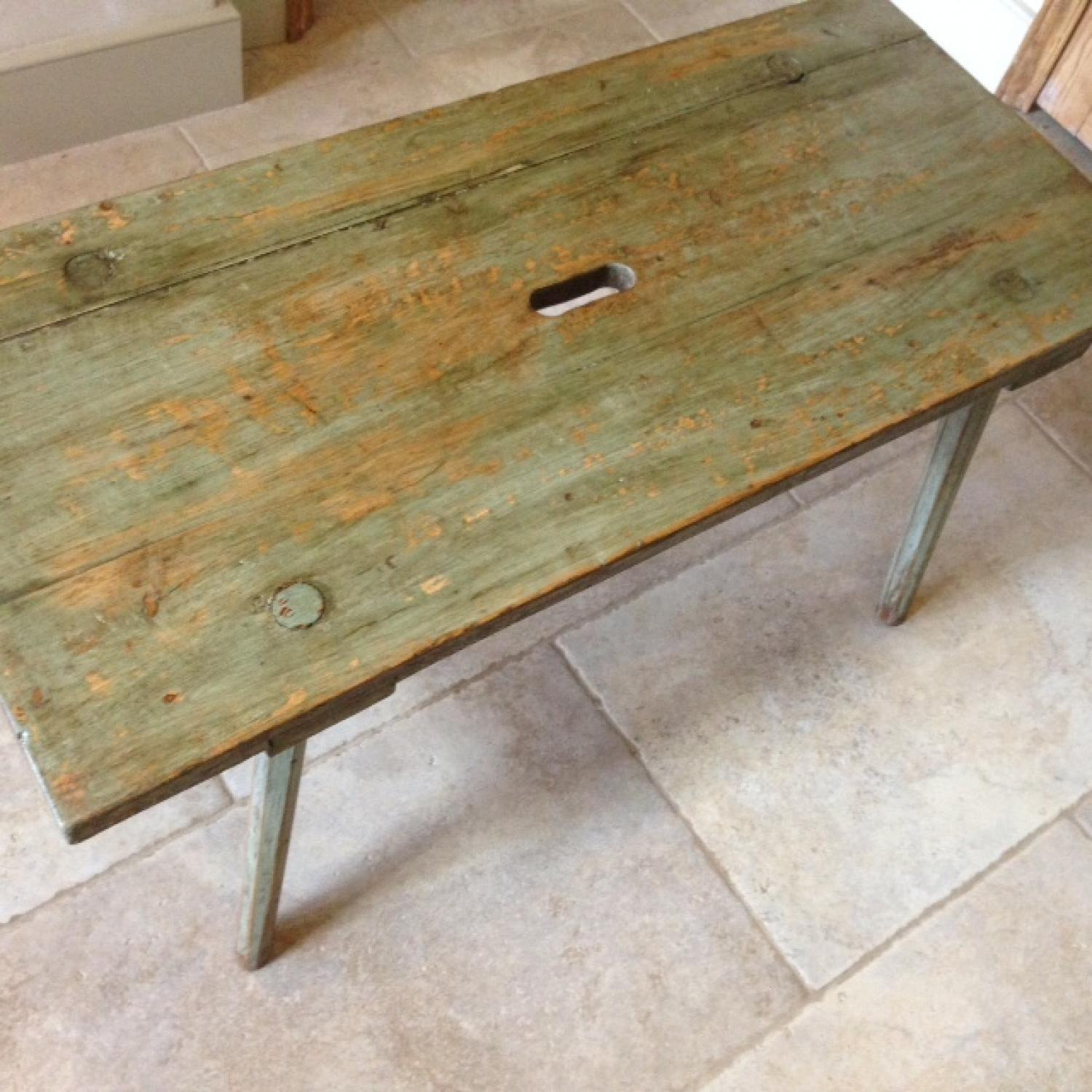 Antique Country Coffee Table Bench in FURNITURE & BOXES