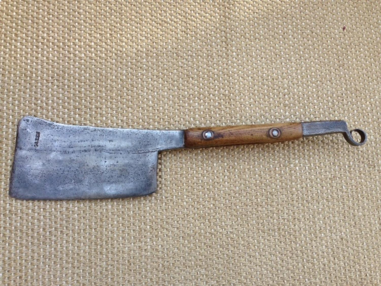 19th Cent Kitchen/Butcher's Cleaver
