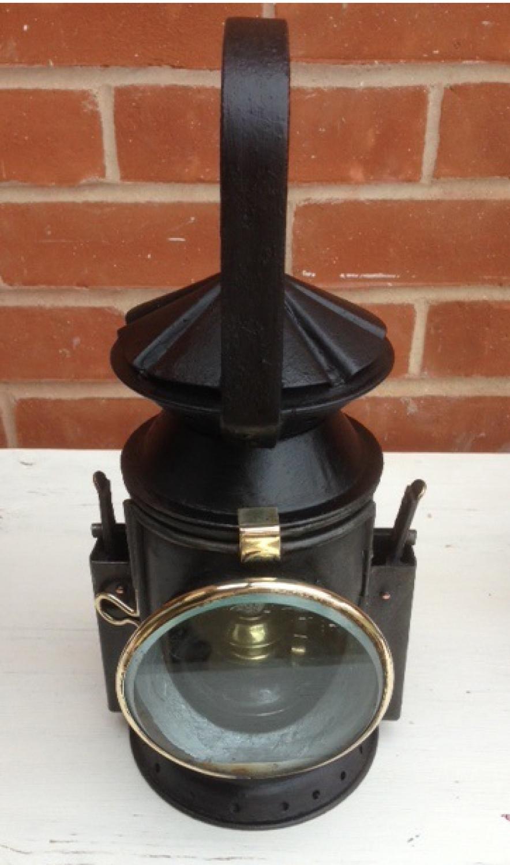 Vintage Railway Guard's Lamp